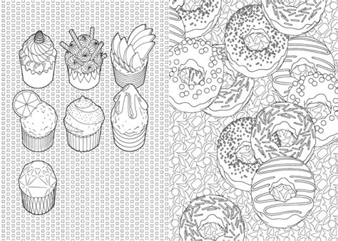 100 Cupcakes 224 Colorier Http Anne Margot Com