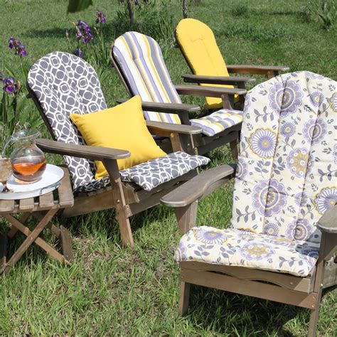 ikea adirondack chair cushions beautiful adirondack outdoor chair cushion with floral