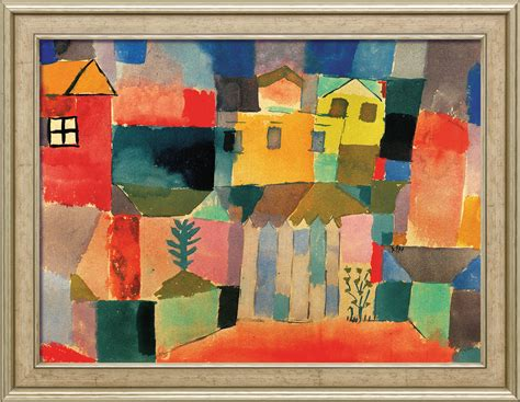 Home Interior Painting Ideas by Painting Quot Houses On The Sea Quot Framed Paul Klee