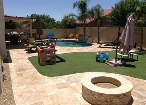 backyard landscaping ideas arizona phoenix landscaping designs outdoor kitchens and pavers