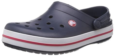 Crocs Slop Blue crocs crocband unisex adults clogs blue navy s shoes mules hhvlua5b crocs 135 69