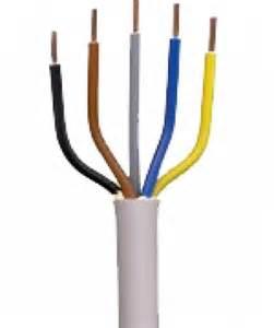 le kabel farbe nym j 5x16 mm 178 kabel installationsleitung meterware