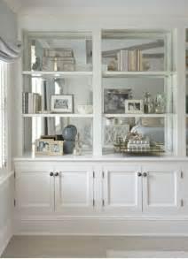 Mirror Bookcase The Zhush Home Tour Fairfield County Chic Bookshelves