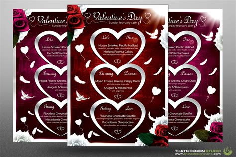 valentines day menu template search results for valentines day dinner menu template