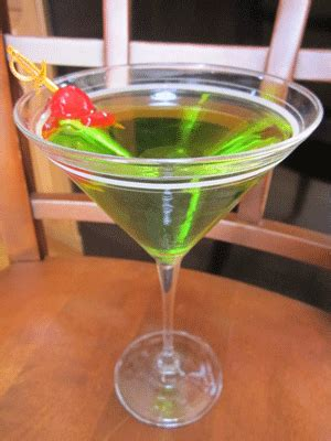 apple martini with cherry pear vodka martini cool and refreshing