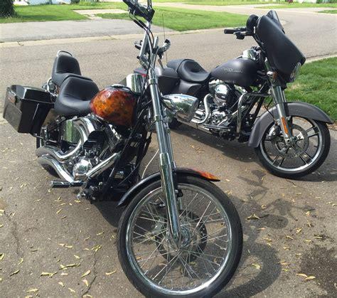 Harley Davidson Hd011 Black Orange 2010 harley davidson 174 fxstc softail 174 custom black orange mankato minnesota 637031