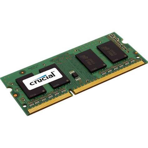 Memory 4gb Ddr3 Sodimm Pc 8500 crucial 4gb 204 pin sodimm ddr3 pc3 8500 memory ct4g3s1067m b h
