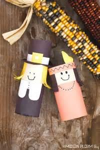 Indian Paper Crafts - pilgrim indian thanksgiving craft