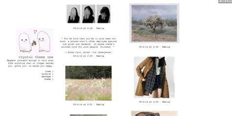 themes tumblr plain crystal theme