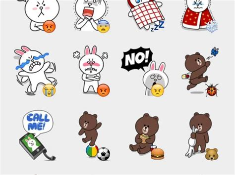 Brown Stickers
