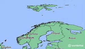 where is trondheim where is trondheim