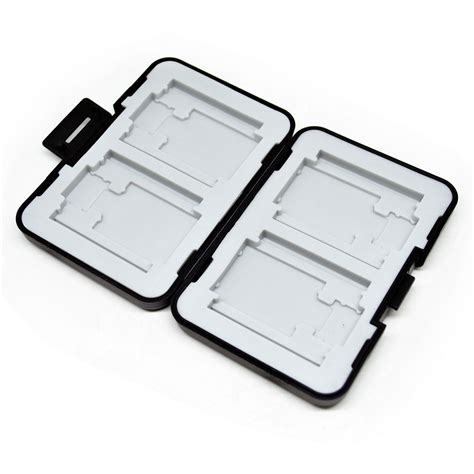holder plastic storage box for memory card 4 compact