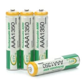 Aaa 1350mah Rechargeable Aaa Battery Original Bty 4 Pieces 1 2v Mura batteries dx