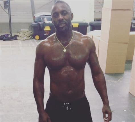 idris elba sets pulses racing with new workout video