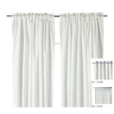 ikea curtains and drapes ikea hillmari curtains drapes white