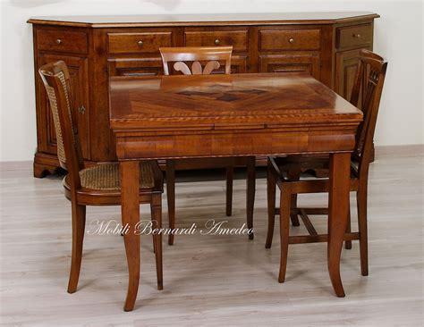 tavolo allungabile ciliegio tavoli in noce e ciliegio allungabili 2 tavoli