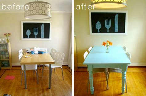 family feedbag  painted table