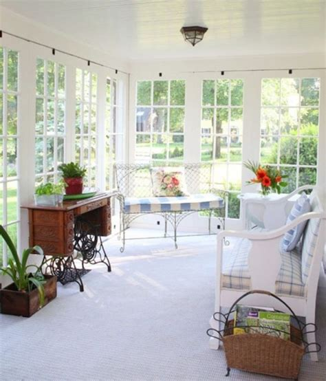 Decorating A Sun Porch by 20 Small And Cozy Sunroom Design Ideas Home Design And