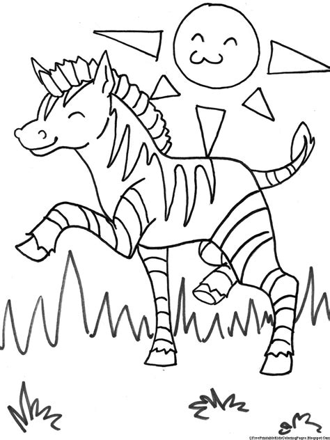 zebra coloring pages free printable zebra coloring pages free printable kids coloring pages