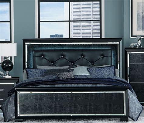 upholstered panel bed allura black queen upholstered panel bed from homelegance coleman furniture