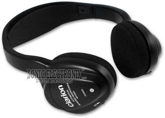 Headphone Clarion Pro 2830 Clarion Wh104 Two Set Of Wireless Ir Headphones