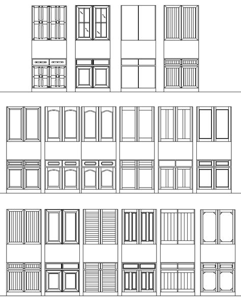 design center window autocad autocad doors blocks library exterior door autocad