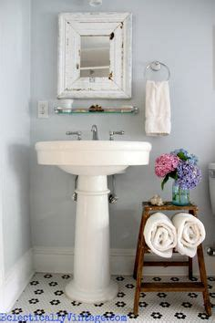 Cottage Bathroom Look Add This Bathroom Ladder Shelf Homesfeed 1000 Images About Small Apartment Living On Pinterest Balconies Small Spaces And Tiny