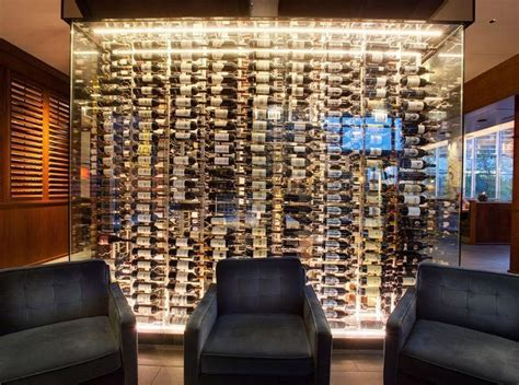 Wine Display in Metal Wine Racks   Tobacconist Cigar Storage