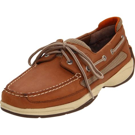 topsider shoes for sperry top sider sperry topsider lanyard 2eye boat shoe in