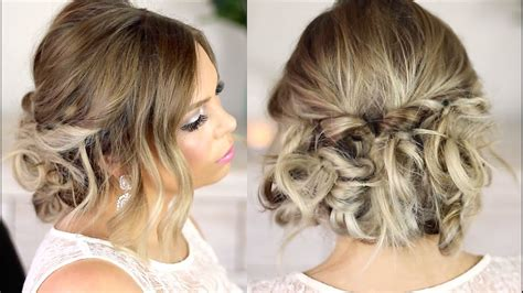 easy formal hair up style tutorial