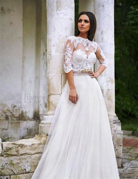 beautiful wedding dresses with lace 25 beautiful lace wedding dresses ideas