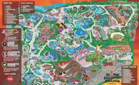 six flags vallejo map six flags discovery kingdom maplets