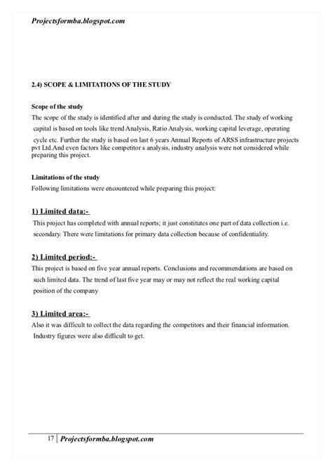 limitations of dissertation limitations in dissertation 28 images scope and