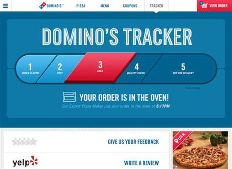 domino pizza online delivery order domino s pizza usa on the app store