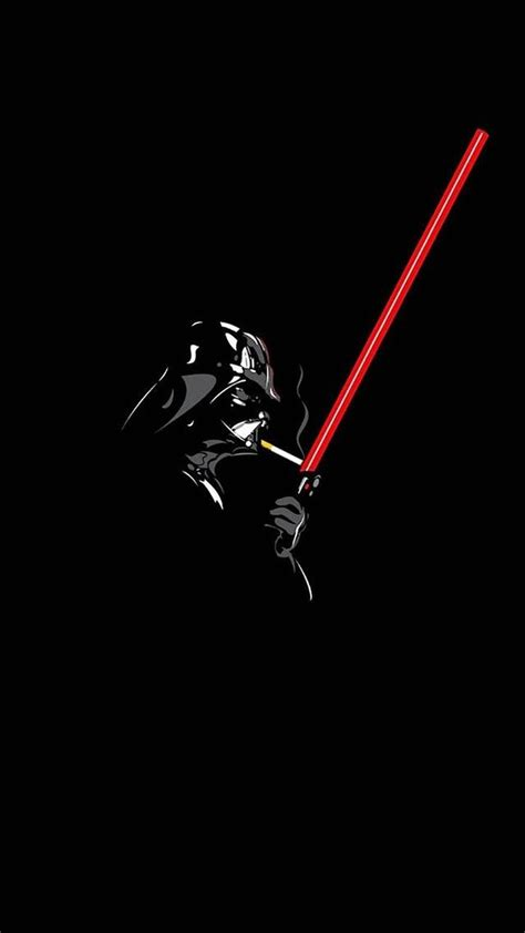wallpaper iphone darth vader wallpaper iphone 6 plus darth vader sigarette 5 5 inches