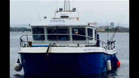 fishing boat charter cardiff the great escape bristol channel fishing