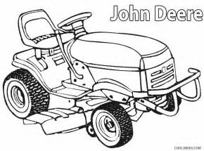 Lawn Mower Coloring Pages Printable John Deere For Kids  sketch template