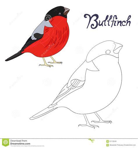 the days when birds come back books educational coloring book bird vector stock vector