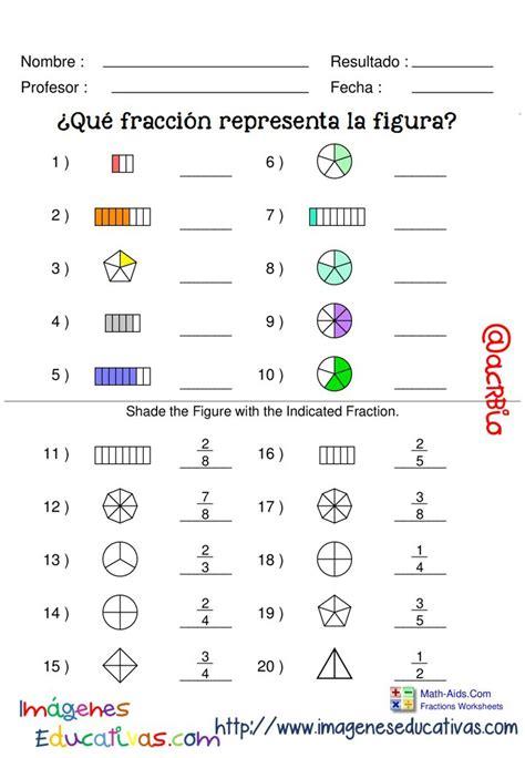 figuras geometricas fracciones fichas ejercicios de fracciones con figuras 12