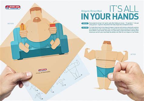 Mail Origami - aus potato wird athlet so geht werbung f 252 r ein