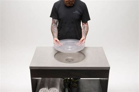 concrete apothecary sink molds 14 best really neat countertops images on
