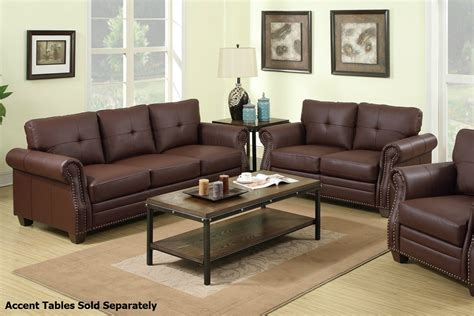 brown leather loveseat sofa brown leather sofa loveseat model fukers