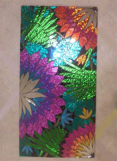 crafted mosaic stained glass wall decor by sol