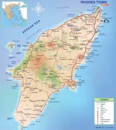 Rhodes Greece Map by Map Of Rhodes Island Rhodesinfo Gr Rhodes Travel Guide