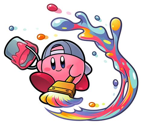 with paint paint kirby wiki the kirby encyclopedia