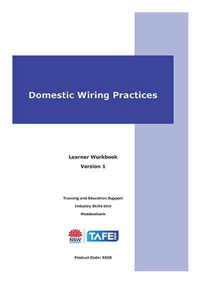 wiring practices vetres vocational education resources by tafe nsw