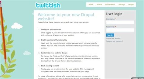 drupal themes orange 100 best free drupal themes creativefan