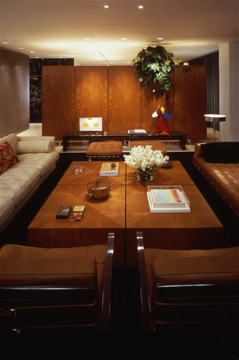 Modern Contemporary Mies Powell K Arranging Remodeling Exle | mies apartment contemporary living room chicago by