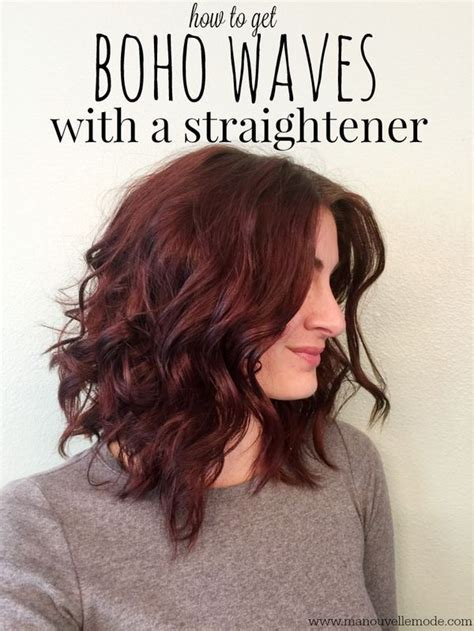 Hairstyles With A Straightener by How To Curl Your Hair With A Straightener Feelings