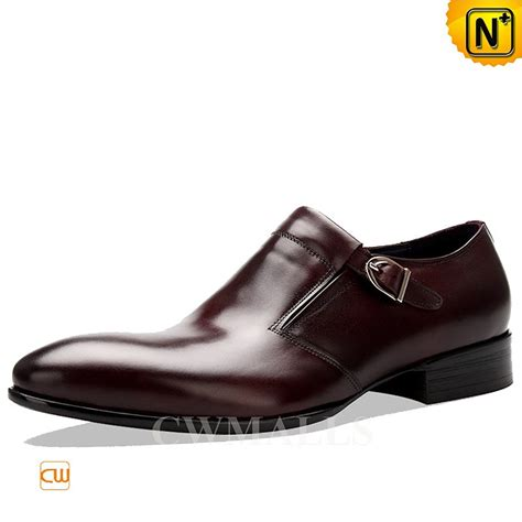 mens loafers with buckle cwmalls 174 mens leather buckle loafers cw716039